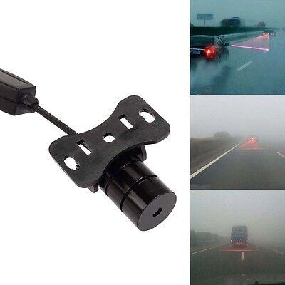 Car Laser Fog Light Rear Anti-Collision Driving Safety Signal Warning Lamp BS