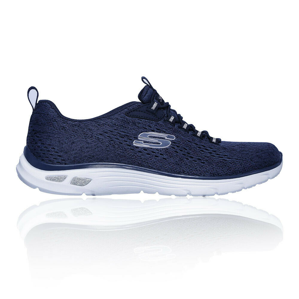 Skechers damen Empire D'Lux Walking schuhe - Blau Sports Outdoors Breathable