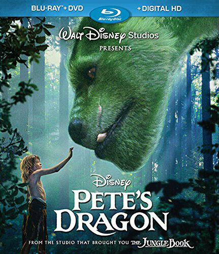 Pete's Dragon (2016) (2 Disc, Blu-ray + DVD) BLU-RAY NEW