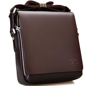 Men-039-s-Leather-Shoulder-Bag-Handbag-Briefcases-Small-Casual-Travel-Messenger-Bags