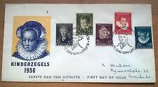 FDC E28 Kinderzegels 1957