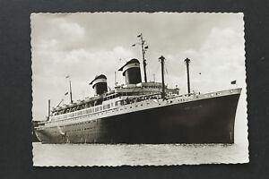 Marine-AK-United-States-Line-1953-S-S-America-Passagier-Dampfer-Schiff