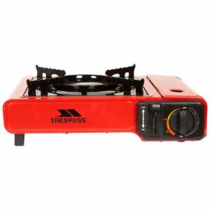 Trespass Portable Gas Stove For Camping Requires Butane