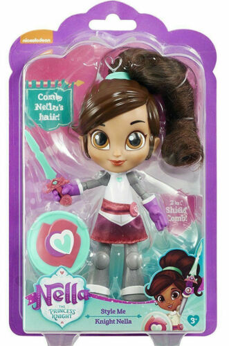 Nella the Princess Knight Style Me Knight Doll Brand New