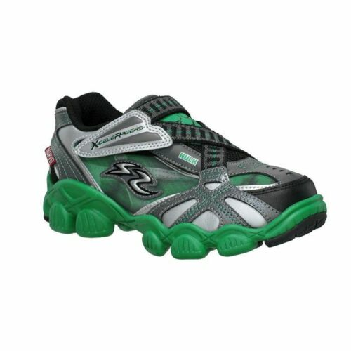 Childrens Stride Rite Marvel Incredible Hulk Green H/&L Sneakers YB43183 11-3 M/&W