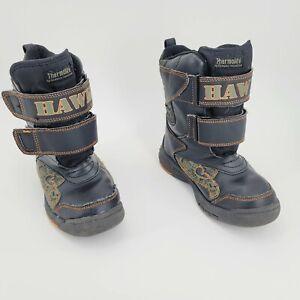 Tony Hawk Thermolite Boys Youth 1 Green/Black Boots
