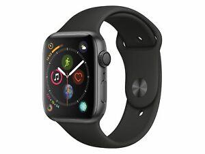 Apple-Watch-Series-4-44-mm-Aluminiumgehaeuse-space-grau-Sportarmband-schwarz