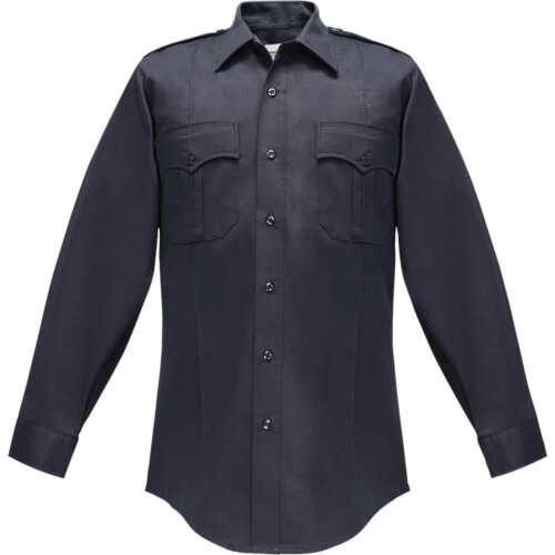 Clifton Men/'s Long Sleeve Uniform Super Shirt 100/% Polyester/_Police/_EMT/_Security