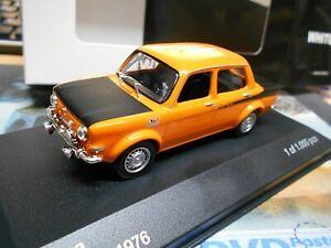SIMCA-1000-Rallye-Rally-2-orange-1973-1976-IXO-White-Box-1-43