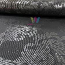 Holden Statement Zena Damask Wallpaper Stripe Motif Metallic Glitter 65271