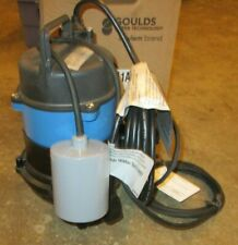 New Listinggoulds Ww0511a Wastewater Submersible Sewage Effluent Pump 115volt 12hp