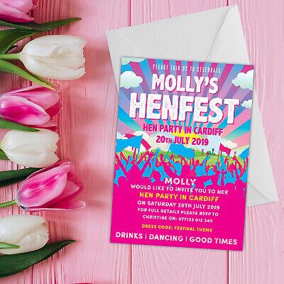 Henfest Festival Nubilato Inviti   Inviti Personalizzati Nubilato-