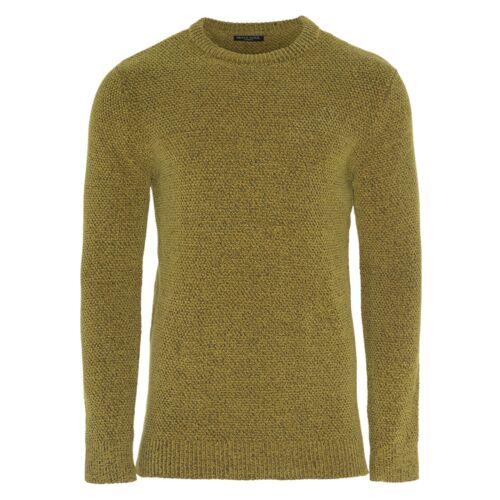 Mens Brave Soul Long Sleeve Crew Neck Winter Chenille Pullover Jumper Sweater