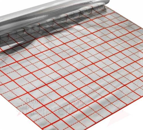 Diapositive Grille film ISO hypocauste plancher ISOLATION Film Isolant Du Papier Alu