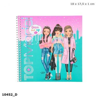 depesche 10452 sticker book topmodel dress me up 4010070399948 | ebay