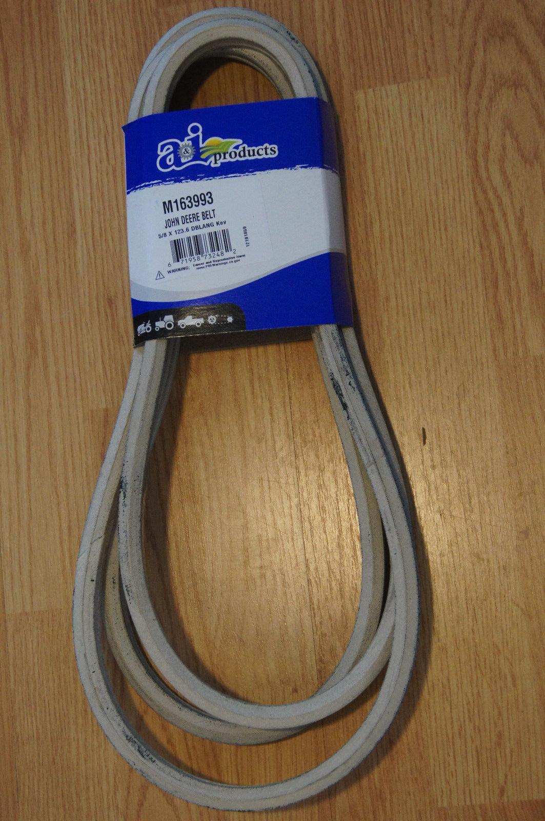 Cubierta de Repuesto para John Deere M163993 Cinturón Cinturón de doble  V  con Kevlar