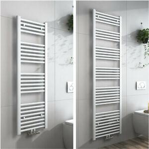 Details zu Heizkörper Handtuchhalter Weiß Handtuchwärmer Badezimmer Heizung  Mittelanschluss