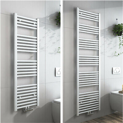 Heizkörper Handtuchhalter Weiß Handtuchwärmer Badezimmer Heizung  Mittelanschluss | eBay