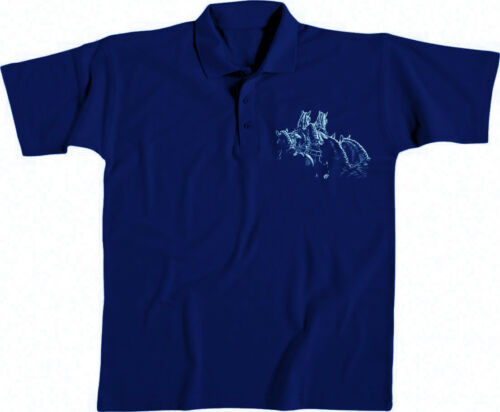 Damen Polo-Shirt S XXL Lady Fit Collection Boetzel Pferde Fahrsport 12318