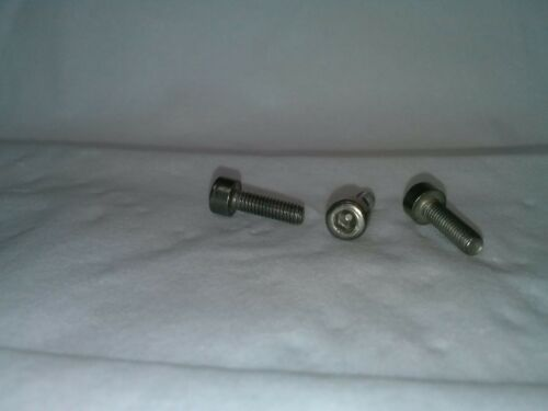 8mm Long -w// Fine Threads HT AE03 Pedal Pins Std Legnth Stainless Steel