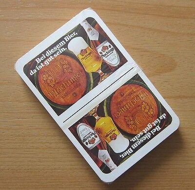 Sammeln & Seltenes DemüTigen Plochinger WaldhornbrÄu Spielkarten Skatkarten Brauerei Reklame Werbung Nos Neu Bier & Brauerei