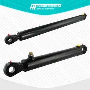 Hydraulikzylinder-einfachwirkend-EW-zylinder-Hub-von-90-bis-900-mm