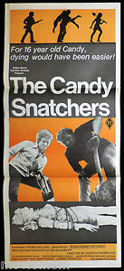 THE-CANDY-SNATCHERS-Original-Daybill-Movie-Poster-Horror-Tiffany-Bolling