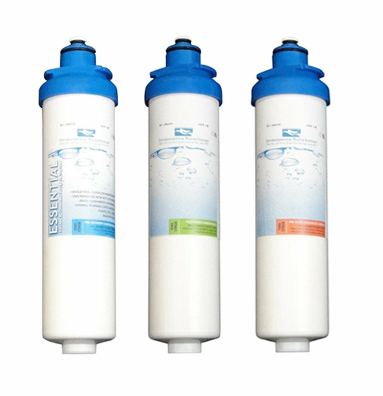 Environmental Water Systems F. Set. DWS Remplacement Kit De Filtre Pour DWS F. Set. DWS