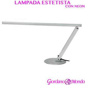 Lampada Da Tavolo Con Luce Neon Estetista Ricostruzione Unghie Nail Art 16w Ebay