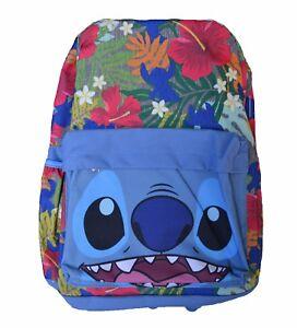 566877eb6de Lilo   Stitch backpack Disney Classic Movie 16 inch Project 626 ...