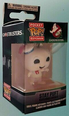 "GHOSTBUSTERS SLIMER 2/"" Pocket pop Portachiavi Figura in Vinile Funko UK Venditore"