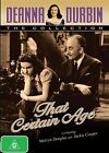 Deanna Durbin - That Certain Age (DVD, 2014)