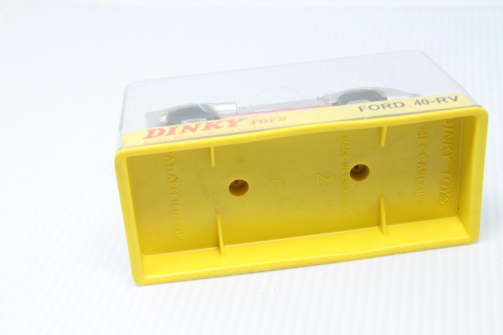DINKY TOYS   FORD 40-RV  1 1 1 43  ORIGINAL 1967  OVP 663fdb