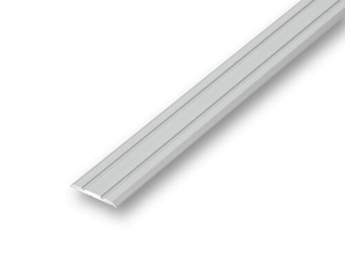 25mm Übergangsprofil flach silber selbstklebend Laminatprofil≤2,50 m 7,74EUR//m