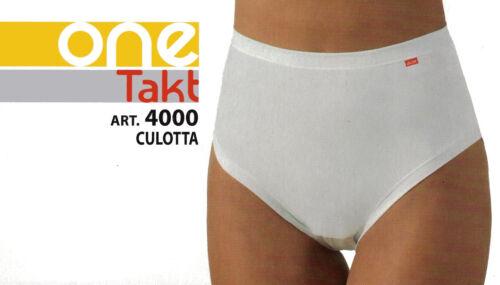 TRIS SLIP DONNA CULOTTE One takt 3 PAIA CULOTTE IN COTONE E MODAL  Made in Italy