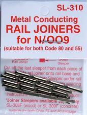 Peco SL-310 N Code 55 Conductive Rail Joiner Pack of 24