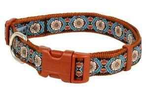 Douglas-Paquette-MOROCCO-Nylon-Ribbon-Adjustable-Dog-Collar-Harness