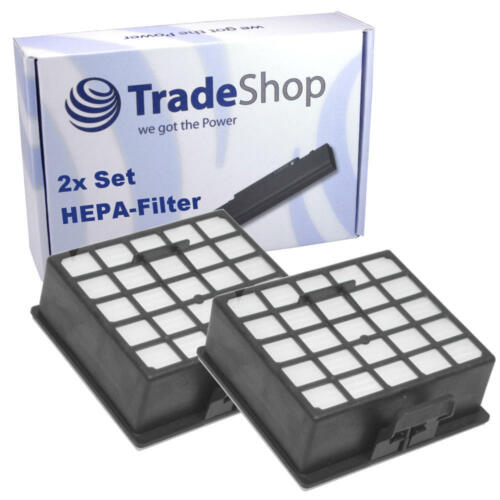 2x Ersatz HEPA-Filter für Siemens Z3.0 Parquet Extreme Power VSZ3XTRMGB//03