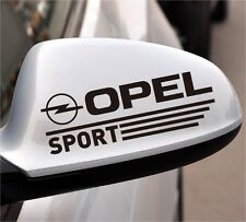 2x Opel Sport Aufkleber Sticker Der Türgriff Logo Cors Astra Insignia Zafira...