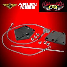 """ARLEN NESS 3"""" Forward Control Extension Kit 11-14 Softail ABS 07-616"""