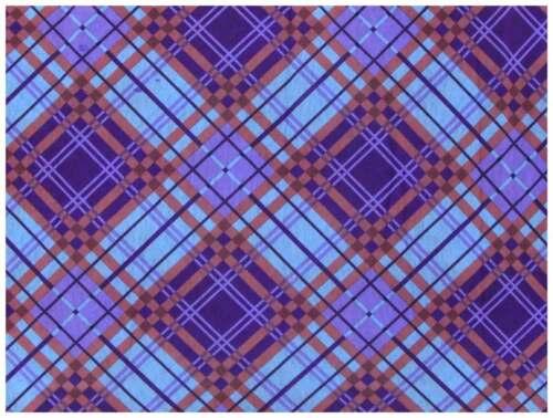 Schlauchtuch Schal Multifunktionstuch lila violett rose türkis kariert Tuch