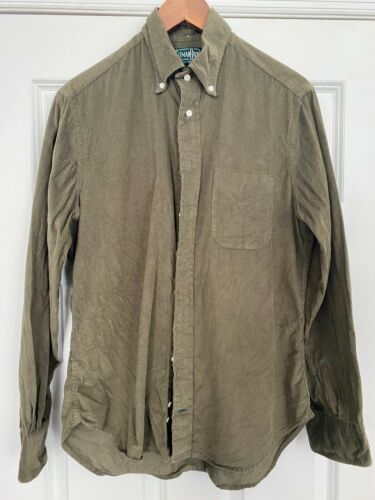 Gitman Vintage Green Corduroy medium