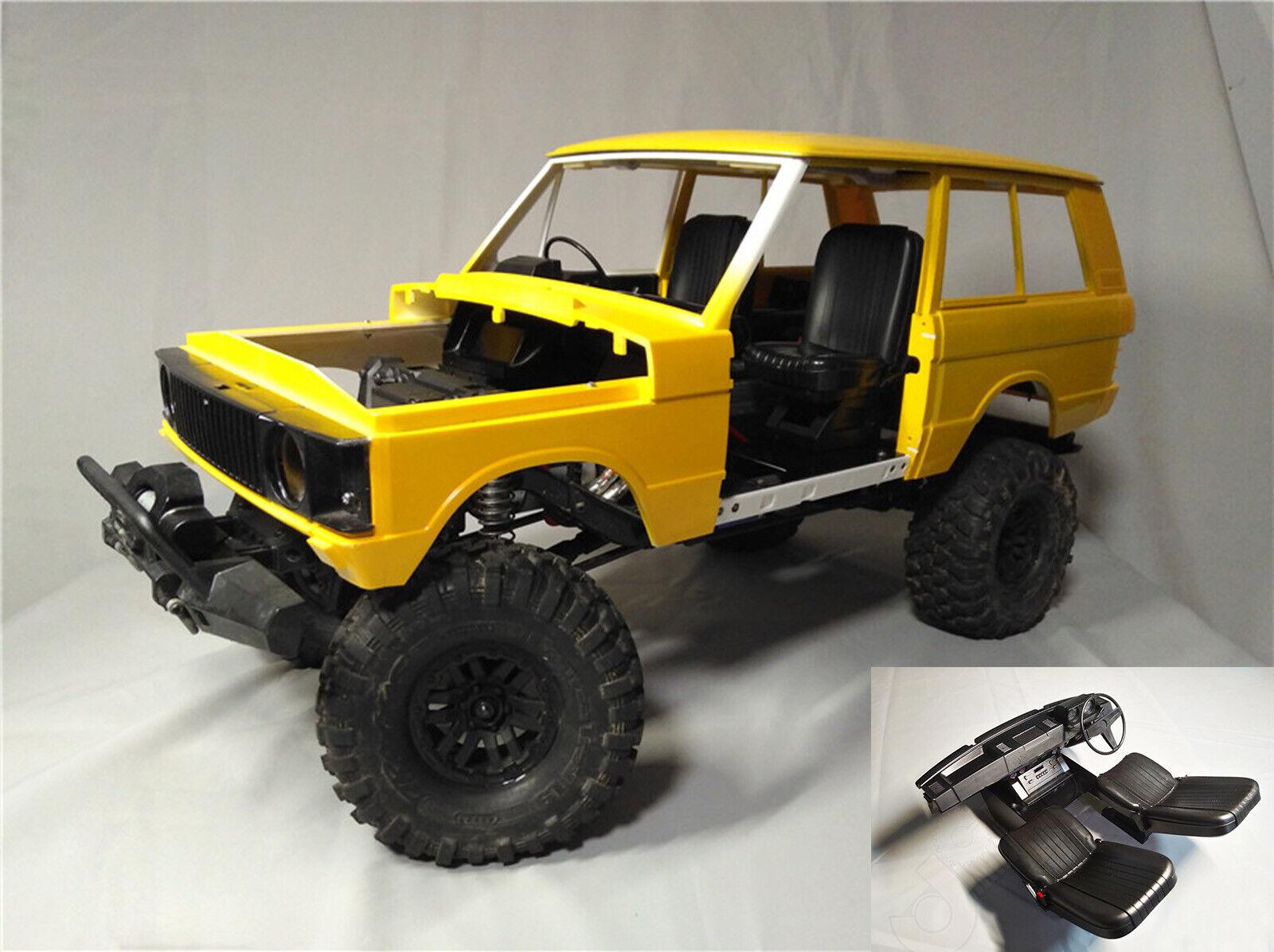 RC 1 10 Scale Interior  Kit Set for classeic Range Rover Hard corpo trx-4 scx10  shopping online di moda