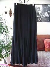 XSCAPE by Joanna Chen sz 4 Long Black Chiffon Gored Maxi Skirt