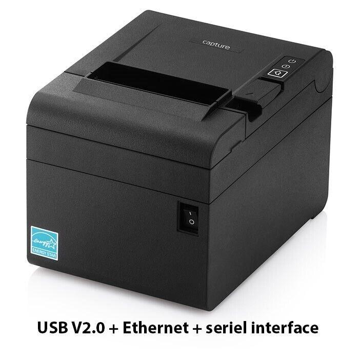 Bonprinter med både USB, ethernet og serielt if