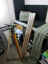 Vintage Keuffel Amp Esser Co Ke Surveying Transit Level Tripod Measuring