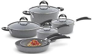 Bialetti-Granito-X-TRA-10-Piece-Nonstick-Cookware-Set-NEW