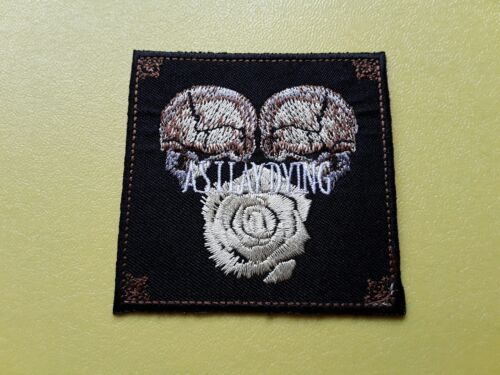 PUNK METAL MUSIC SEW ON /& IRON ON PATCH:- AS I LAY DYING ROCK POP