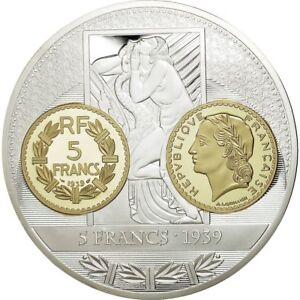554414-France-Medaille-Histoire-de-la-Monnaie-Francaise-5-Francs-1939