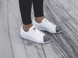 adidas Originals Womens Superstar 80s White